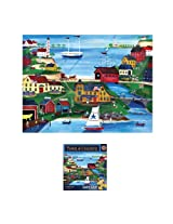 300-Piece Fishermen Cove Puzzle Art by Cheryl Bartley