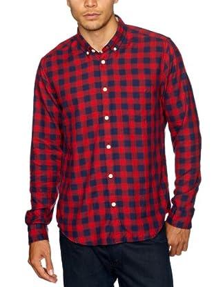 Cottonfield Hemd (Rot/Blau)
