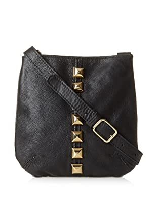 Costella Women's Lisa Diamond Cross-Body (Black/Gold)