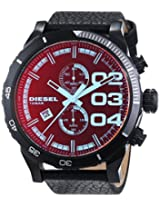 Diesel End-of-Season Double Dow Analog Black Dial Men's Watch - DZ4311