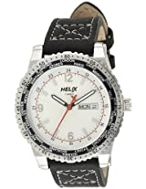 Helix Departures Analog White Dial Men's Watch - 12HG00