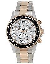 Giordano Analog White Dial Men's Watch - A1004-44