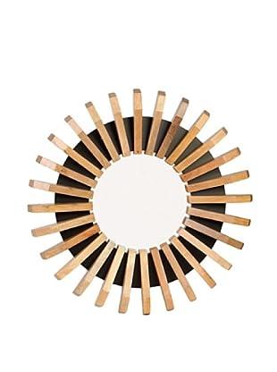 Prima Design Source Wooden Wedge Mirror, Wood