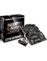 Asrock Z170 Extreme6 - Super Alloy - LGA1151 - 6th Generation DDR4 Board (Latest SKY OC Unlocks Skylake Non-K CPUs)