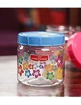 Princeware Julia Pet Jar 550 ML Blue