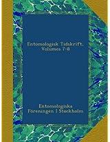 Entomologisk Tidskrift, Volumes 7-8