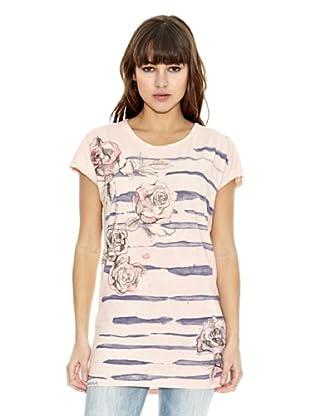 Z-BRAND Camiseta Manga Corta Lee (Rosa)