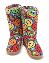 Melissa & Doug Lizzy Boot Slippers, Large