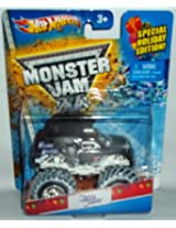 Hot Wheels Monster Jam Mohawk Warrior 2013 Holiday Edition with Snow on the Tires