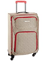 Tommy Hilfiger Florida Polyester 78 cms Beige Soft sided Carry-On (TH/FLO21075)