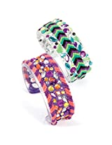 Style Me Up Glitter Bangles, Multi Color