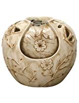 Nature's Garden Butterfly Fountain, Ivory