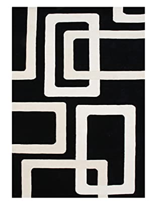 Horizon Rugs New Zealand Wool Rug (Black/Vanilla/Off-White)
