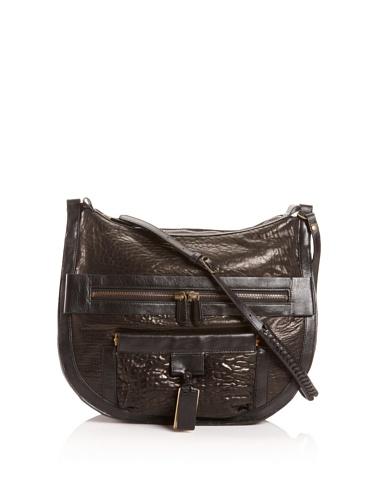 Gryson Women's Sammy Shoulder Hobo Bag, Black