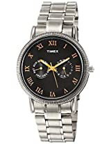 Timex E Class Analog Black Dial Men's Watch - TI000J20600