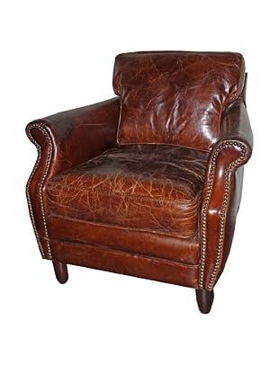 Melange Home Leeds Chair, Vintage Cigar