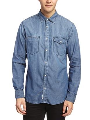 Esprit Camisa Philipppa (Azul)