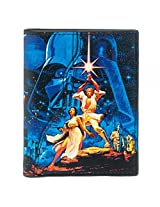 Star Wars Logo Action Characters Collage Bi Fold Costume Wallet Accessory