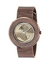 Gucci Analogue Brown Dial Women's Watch - YA129445