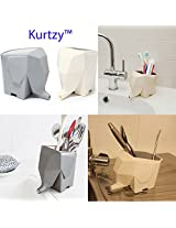 Elephant Kitchen Cutlery Drainer- Off White