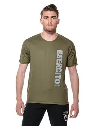 Esercito Italiano Sport T-Shirt (Verde Militare)
