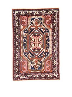 Eden Teppich Ardebil rot/blau 67 x 104 cm