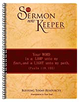 Sermon Note Keeper - Wiro By Blessing Today Resources