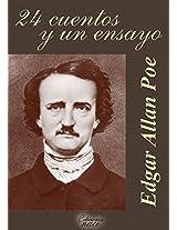24 cuentos y un ensayo (Con notas) (Spanish Edition)