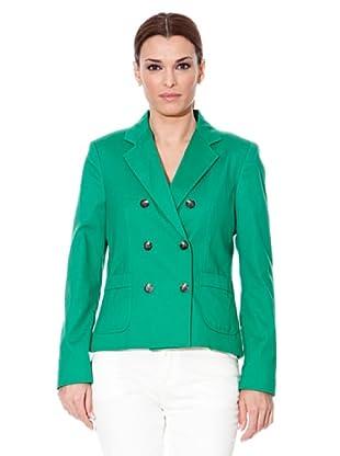 Cortefiel Americana Cruzado (Verde)