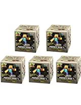 Minecraft Craftables Series 1 5 Pack Lot