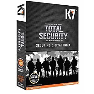 K7 Total Security version free 1 PC 1 Year (CD)