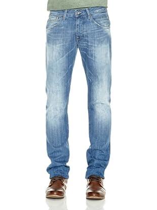 Pepe Jeans London Pantalón Vaquero Bruford (Azul)