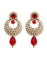 HI Look STUD EARRING WITH STONE for women