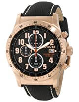 Invicta Men's 1319 Specialty Chronograph Black Dial Black Techno Watch