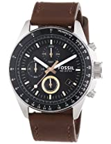 Fossil Decker Chronograph Black Dial Men's Watch - CH2885