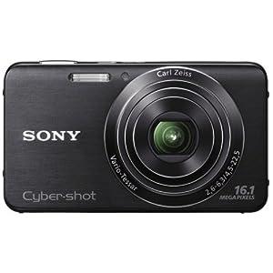 Sony DSC-W630 Cybershot Digital Camera-Black