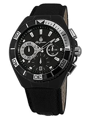 Burgmeister Herren-Armbanduhr XL Marseille Chronograph Quarz Textil BM609-622