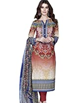 Pure Lawn Printed Suit With Pure Dupatta