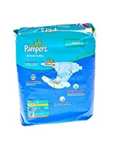 Pampers active baby Xlarge (12+kg) 5 nos