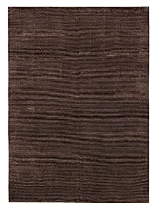 eCarpet Gallery Shimmer Rug, Dark Brown, 10' x 13'