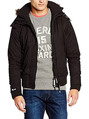 Superdry Giacca Microfibre Fur Hooded Windbomber