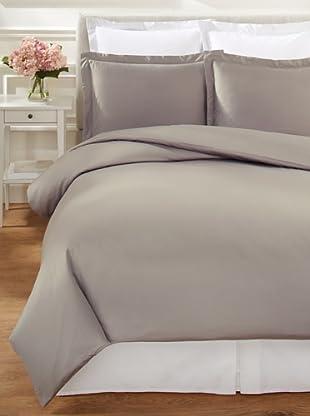 Mélange Home Hemstitch Duvet Cover Set (Grey)