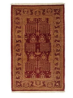 Solo Rugs Traditional Oriental Rug, Red, 3' 2