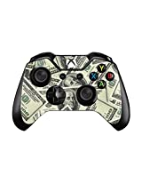 Fashion Prints And Patterns Pair Of Vinyl Decal Controller Sticker Skins For Xbox One (Decal Money Pile Benjamins)