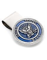 Cufflinks, Inc. Pewter U.S. Navy Money Clip (MC3154EB)
