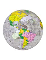 Jet Creations Inflatable Globe, Clear, 16""