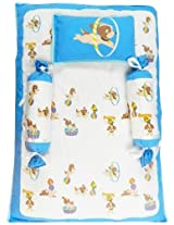 Beebop Bed Sets, 4 Piece - Bowie Wowie (Blue)