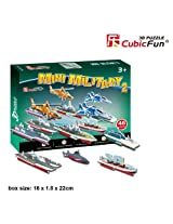 "CubicFun 3D Puzzle S-Series ""Mini Military 2"""