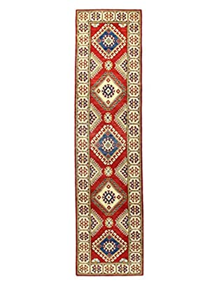 Bashian Rugs One-of-a-Kind Hand Knotted Paki Kazak Rug, Red, 2' 8