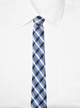 Ben Sherman Men's Westin Plaid Tie (Blue)